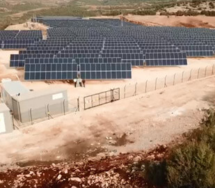 150 x DEGER S100-DR Single Axis Solar Trackers in Hatay TURKEY -1.580 kWp
